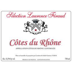 """Sélection Laurence Féraud <a href=""""/regions/cotes-du-rhone"""">Côtes du Rhône</a>, <a href=""""/regions/seguret"""">Séguret</a> France"""