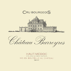 """Château Barreyres <a href=""""/regions/bordeaux"""">Bordeaux</a>, <a href=""""/regions/medoc"""">Médoc</a> France"""