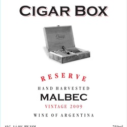 Cigar Box Wines,