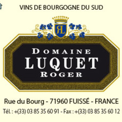 "Domaine Luquet Roger <a href=""/regions/burgundy"">Burgundy</a> France"